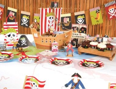 First Birthday Party Ideas For Boys – pirate