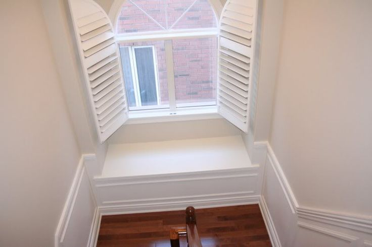 Palladian Window With Custom Shutters Improvements