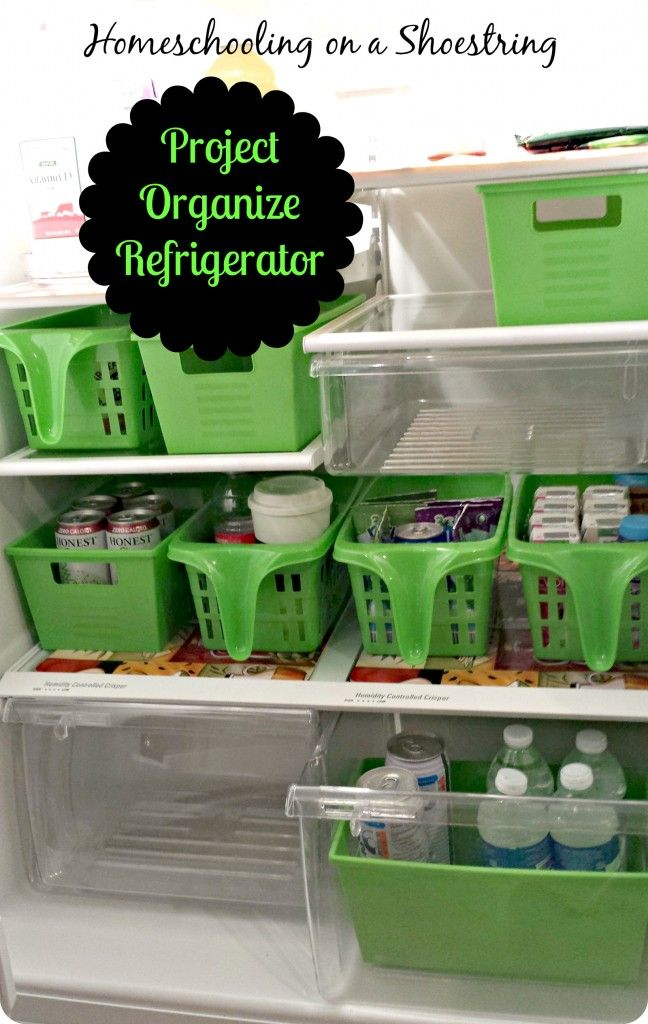 project organize refrigerator homeschooling on a on brilliant kitchen cabinet organization and tips ideas more space discover things quicker id=25628