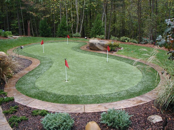 """78 best images about """"Putting"""" around in the yard on ... on Putting Green Ideas For Backyard id=54495"""