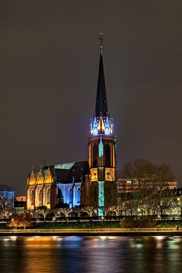 Three Kings Church In Frankfurt Germany Design I Love