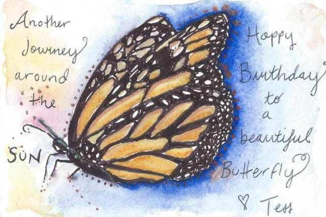 Check out free happy birthday butterfly quotes images