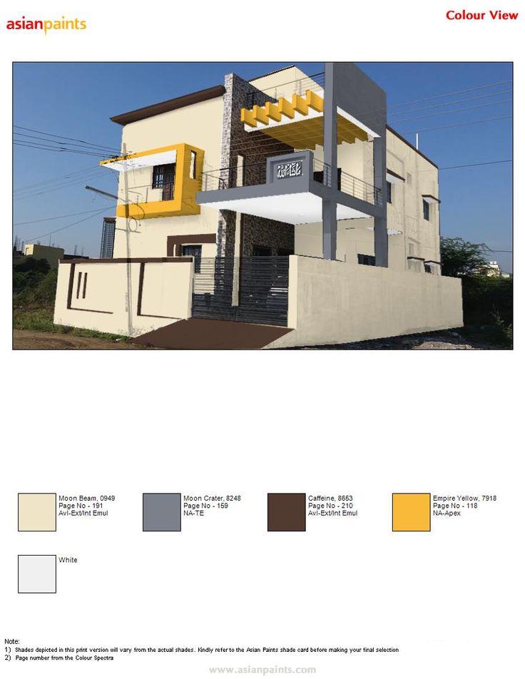 Asian Paints Exterior Colour Combinations Exterior