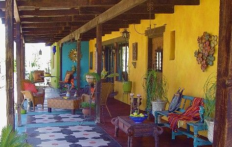 Gardening Mexican Style: a collection of Gardening ideas ... on Mexican Backyard Decor  id=79088