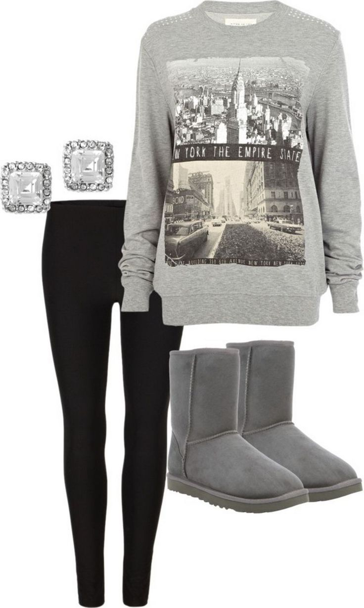 Cute Outfits With Leggings And Gray Uggs Wwwimgkidcom