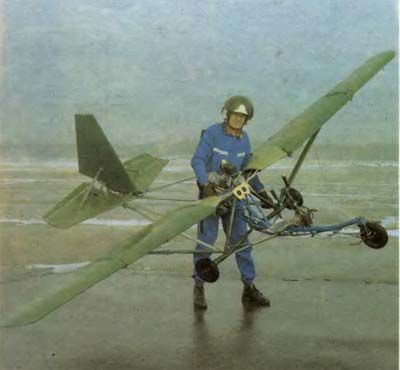 Ultralight Homebuilt Airplane Soviet Ultralight And