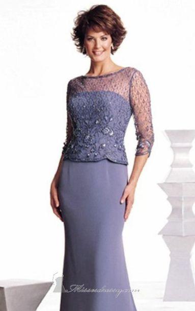 ¿Qué les parece este diseño para la madre de la novia?