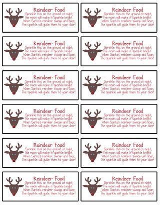 1000 Ideas About Reindeer Food On Pinterest Magic