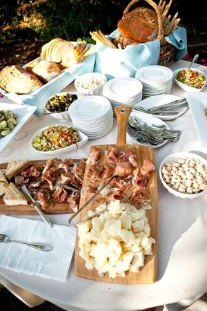 23 Beautiful Buffets Designed To Make Food Taste Even Better Than It Already Does…GREAT IDEAS & ADAPTABLE!!!!!!