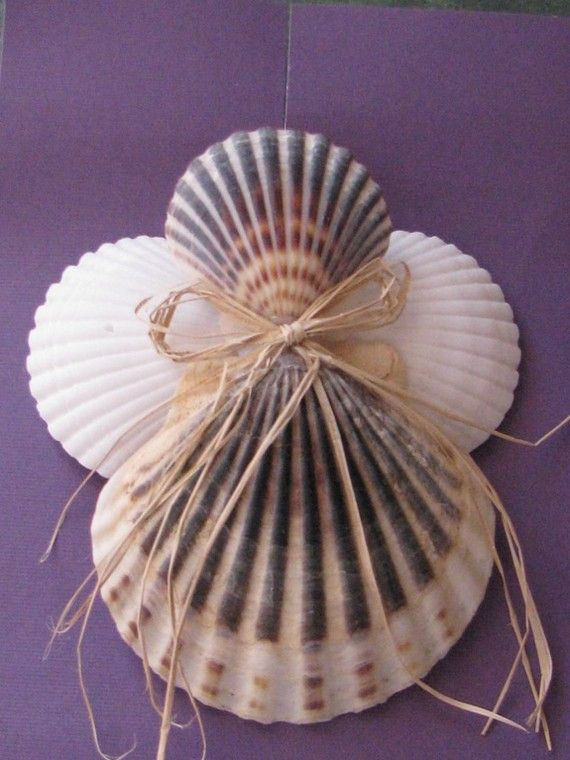 Shell Angel Ornaments Favors For Ss Communion First