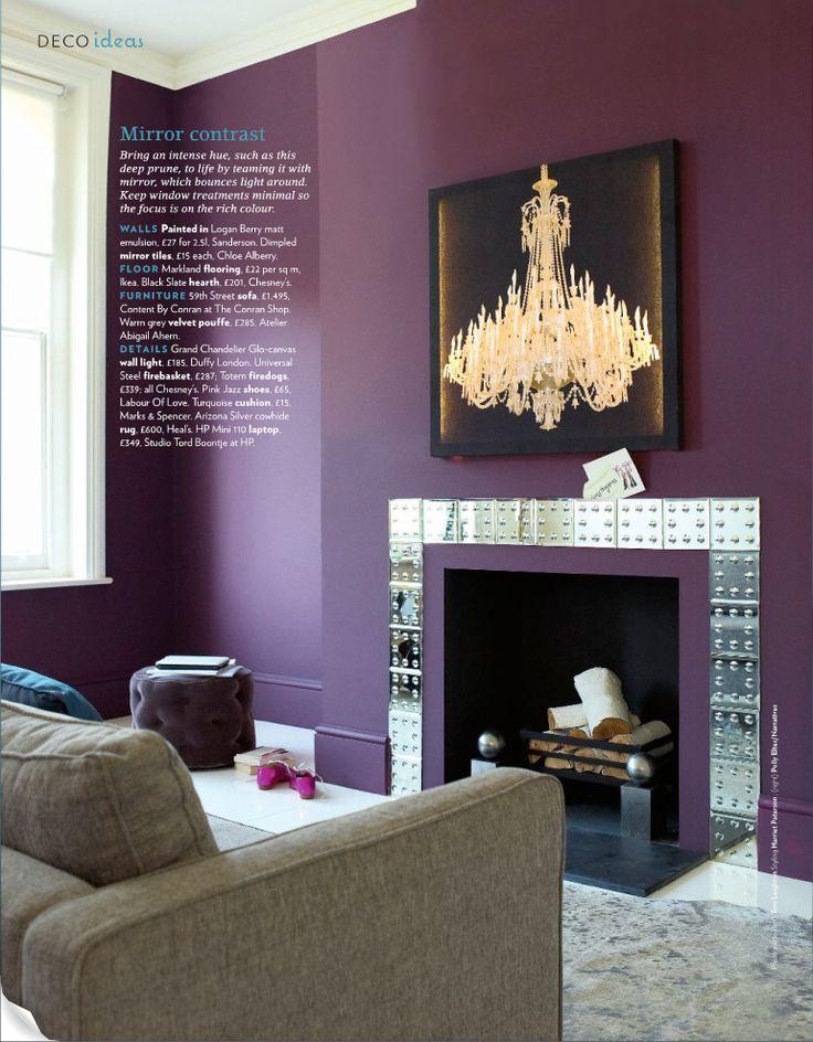 1000 Images About Aubergine Purple Decor On Pinterest