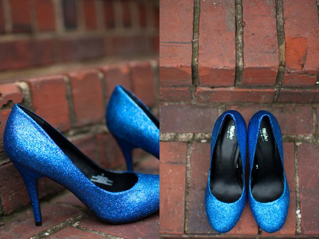 DIY Classic Clean Glitter Heels. Love this article, I've done my own glittery heels before (love those sparkly Dorothy heels!) but