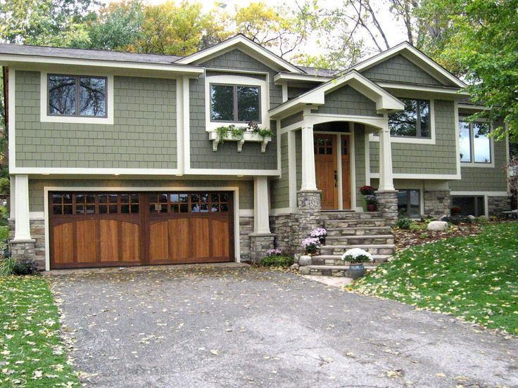 17 Best Ideas About Split Level Exterior On Pinterest