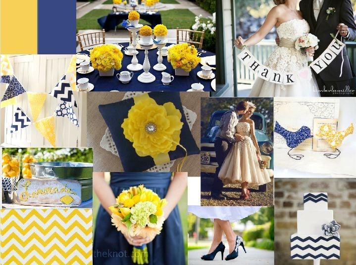 Best 25+ Navy Yellow Weddings Ideas On Pinterest