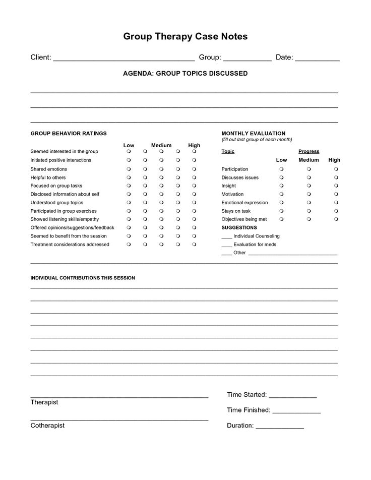 Free Case Note Templates Group Therapy Case Notes For Me Pinterest Note Cases And Therapy