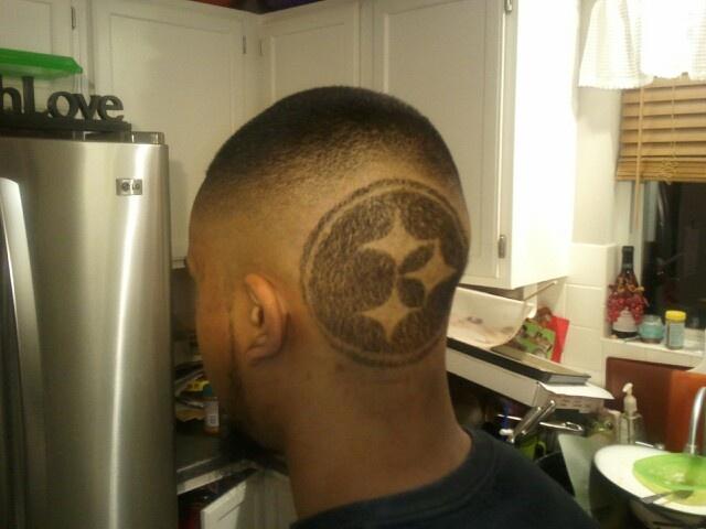 Steelers Haircut Designs Pinterest