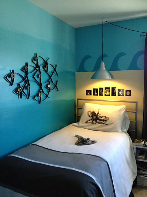 Take Your Kids On An Underseas Adventure With Ocean Themed Bedroom