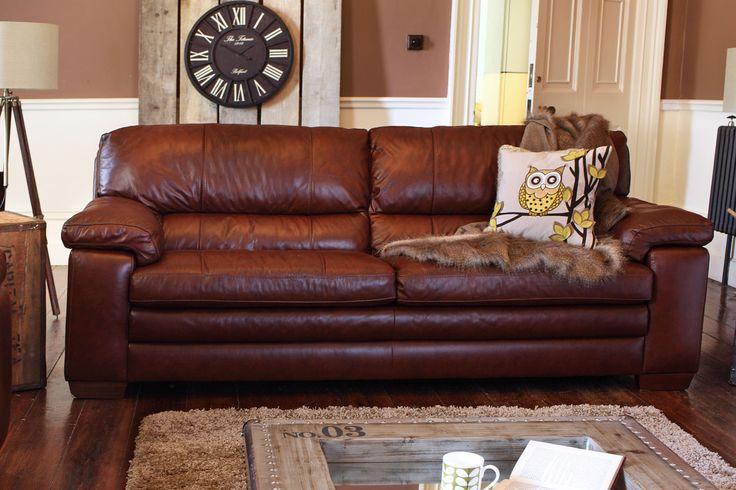 Lumina 3 Seater Leather Sofa From Harvey Norman Ireland