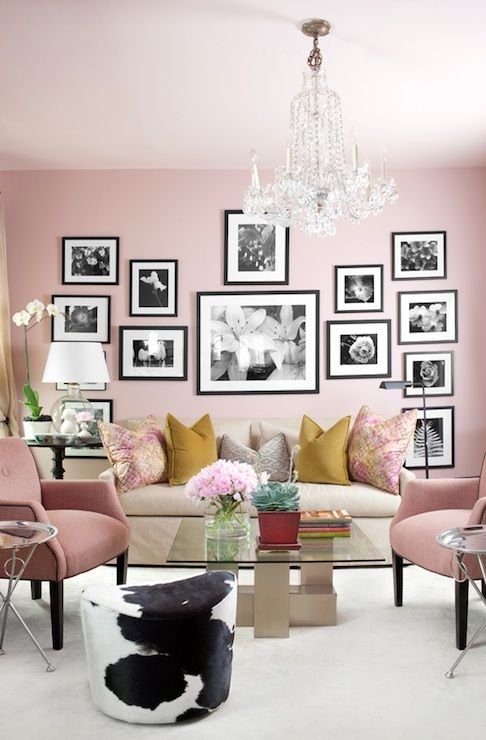 135 best blush rose gold dusty pink oud rose vintage on best art gallery wall color id=85055