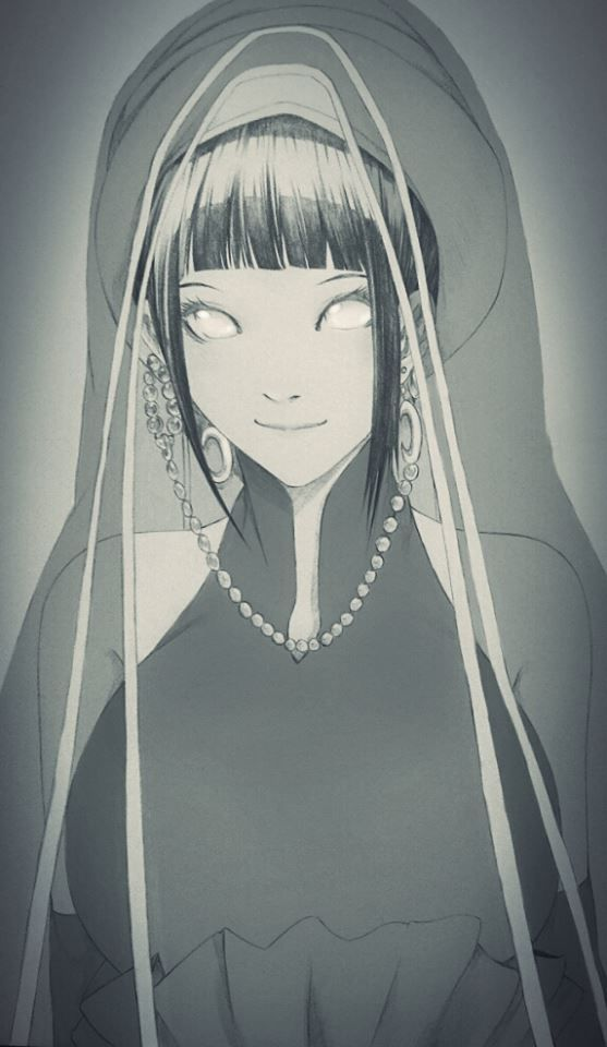 Hinata and her wedding outfit Naruto Pinterest