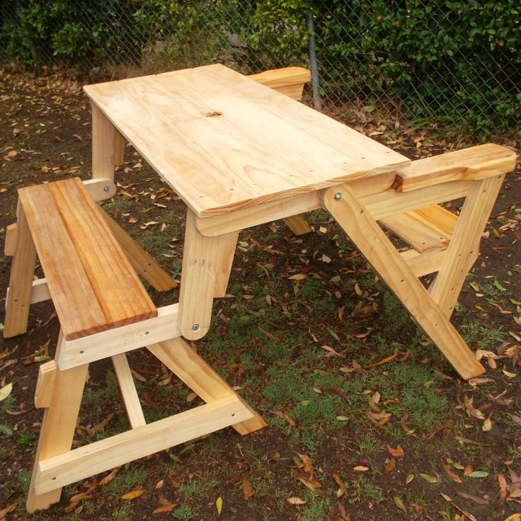 How To Build A Compact Folding Picnic Table Folding