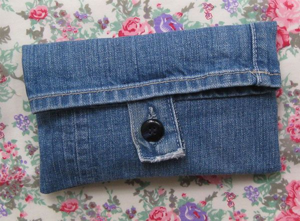 denim belt pouch tutorial – extra project if i ever want to make short pants from one of my jeans