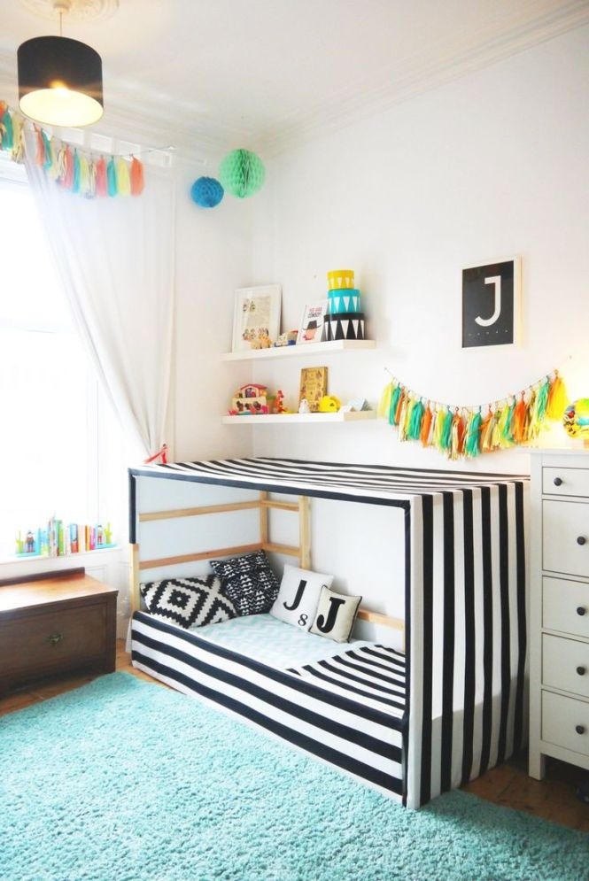Best 20 Ikea Toddler Bed Ideas On Pinterest Baby Bedroom Little Bedrooms And Room