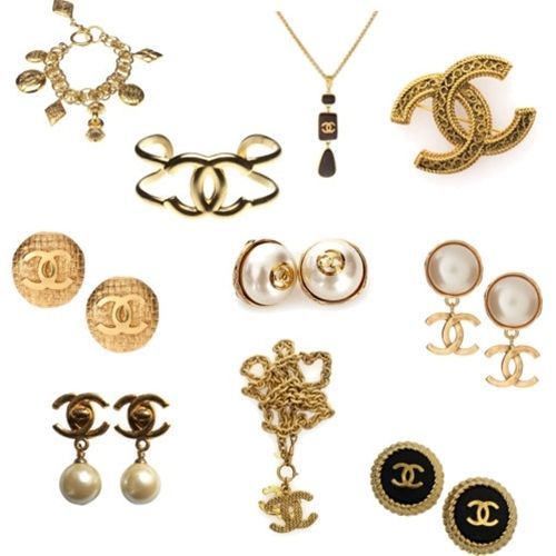 Vintage Chanel jewelry. I have one word- aaaaaahhhhhhhh!
