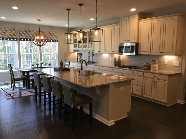 New Kitchen Layout Jefferson Square Model Ryan Homes