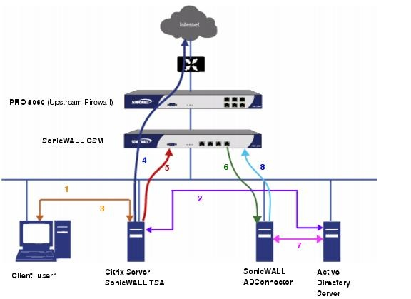 network diagrams citrix configuring sonicwall tsa on on sonic wall id=88927
