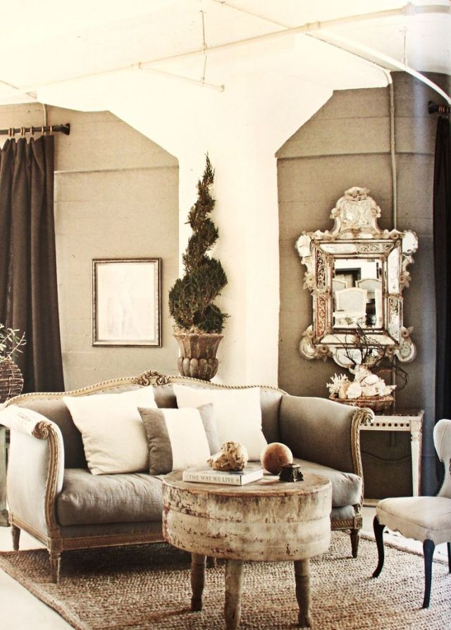 MichelleNiday Interiors, published Fall/Winter 2012 Country French magazine: