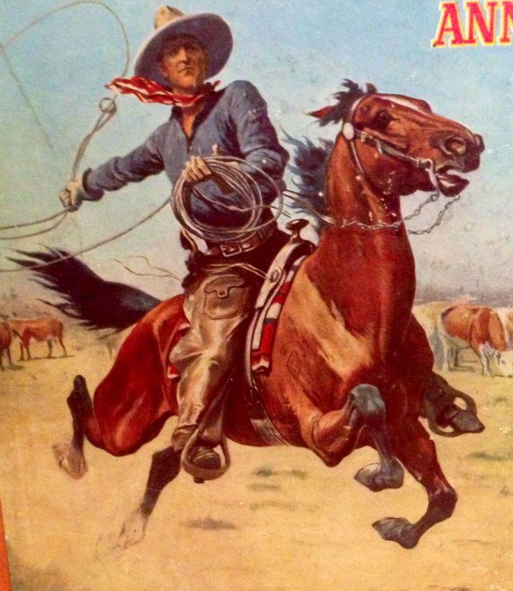 1000 Images About Vintage Cowboy Prints On Pinterest