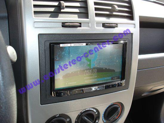 Pioneer AVH8400BT su Jeep Compass | 2DIN. Le installazioni ...
