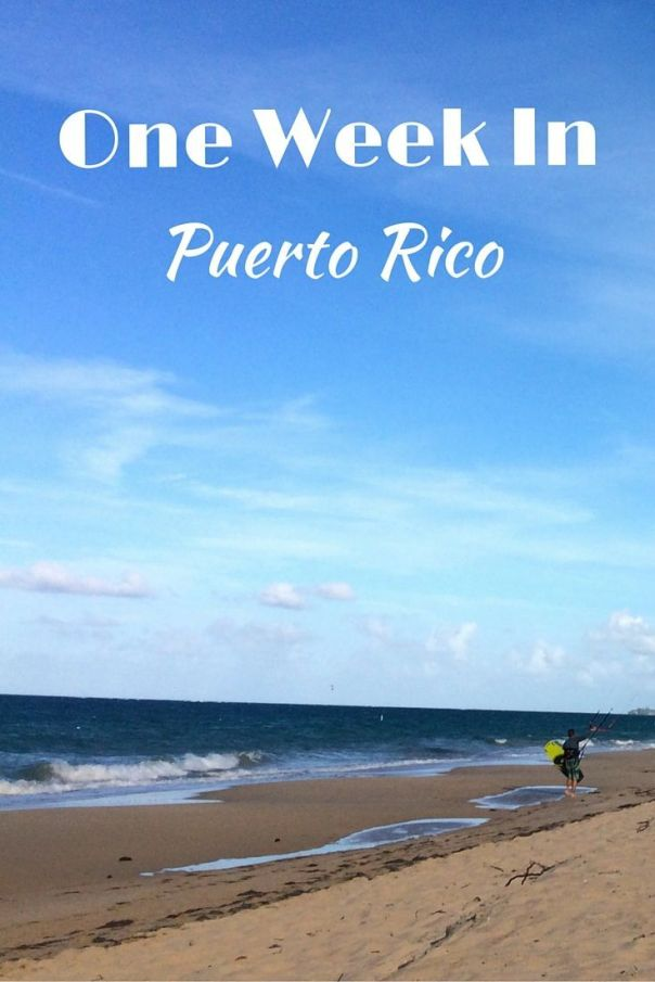 A guide map a one week in Puerto Rico. An itinerary on where to stay, what to do and where to eat and drink around the island. Things to do in Puerto Rico.: