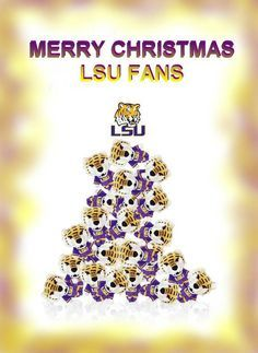 10 Best Images About LSU Christmas On Pinterest Merry