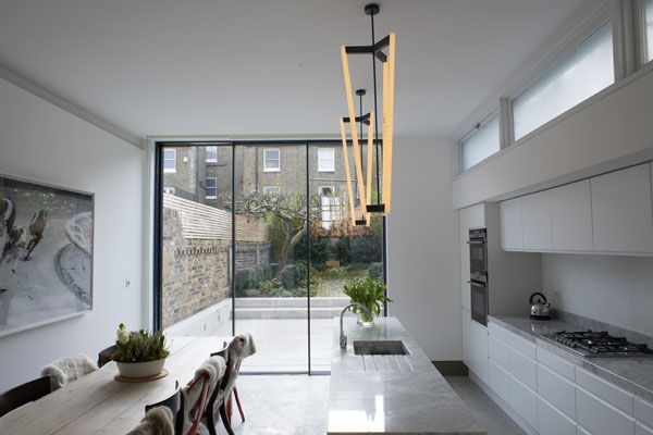 Modern Interior Design For The Classic London Terrace