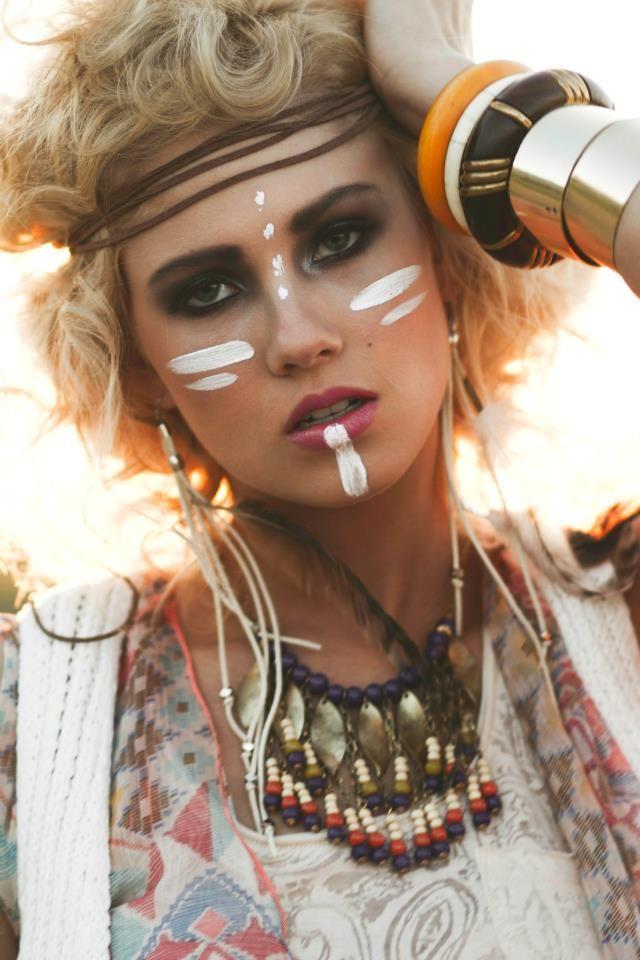 Native American Tribal Makeup