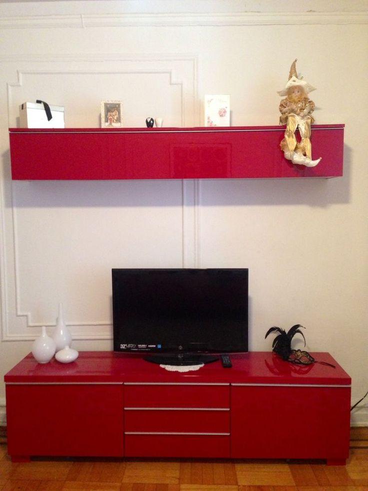 Beautiful Ikea Besta Burs TV Stand Wall Shelf Tv Stands