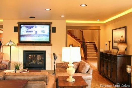 House Tour A Color Combination Warm Colors Cozy Living Room 24 Best Images About Paint