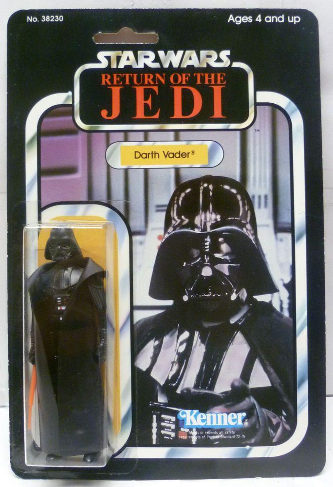 VINTAGE 1983 Kenner Star Wars Darth Vader MOC Lili Ledy