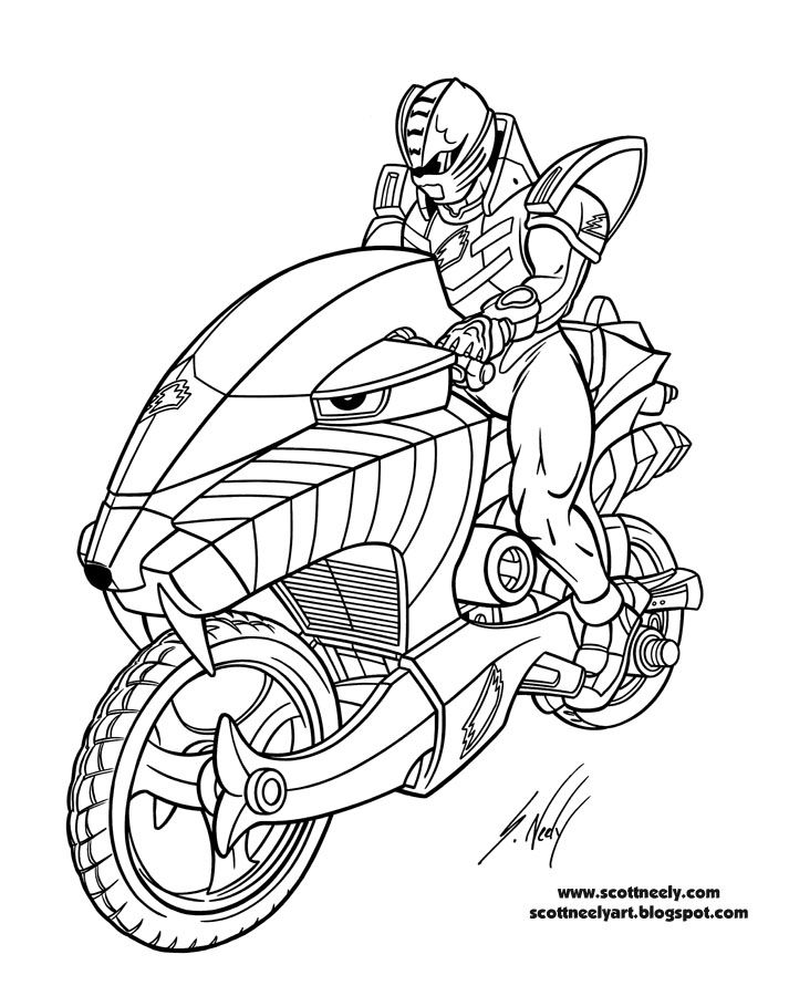 25 Best Power Rangers Coloring Pages Images On