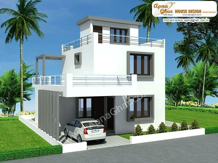20 X 20 Duplex House Plans
