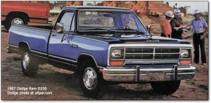1985 dodge ram | History of the Dodge Pickups and ASeries