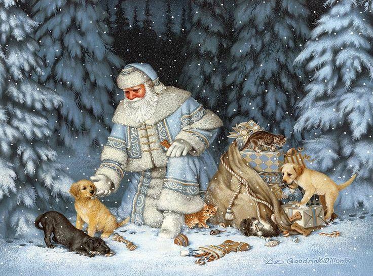 Elizabeth Liz Goodrick Dillon Blue Christmas