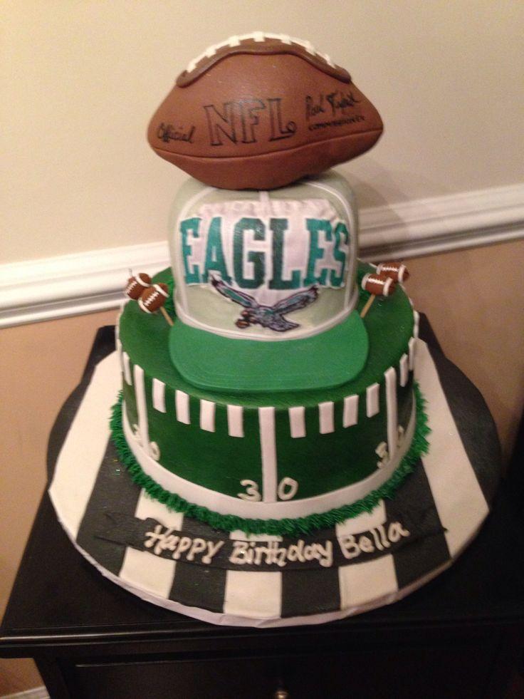 Cakes Eagles And Philadelphia On Pinterest