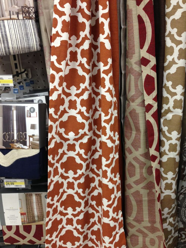 Rust Curtains Target For Living Room Curtains Pinterest Window Target And Living Rooms