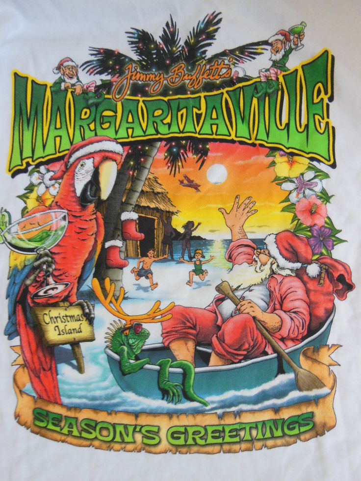 Never Worn Jimmy Buffett Long Sleeve Margaritaville