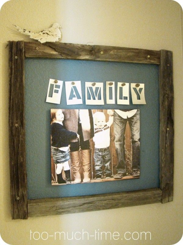 Like this idea for living room – but make about 5x larger with kids Beach Picture done in sepia colors..