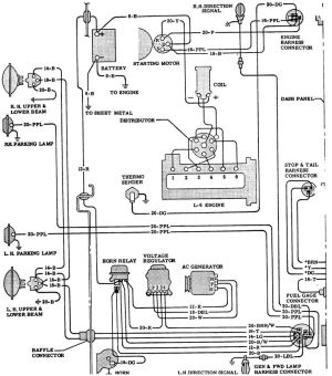 64 chevy c10 wiring diagram | 65 Chevy Truck Wiring