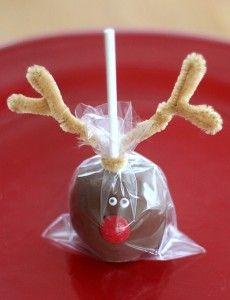 Christmas Cake Pops.: